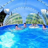 Gamme d'Abri de piscine AZURO En Rupture de Stock